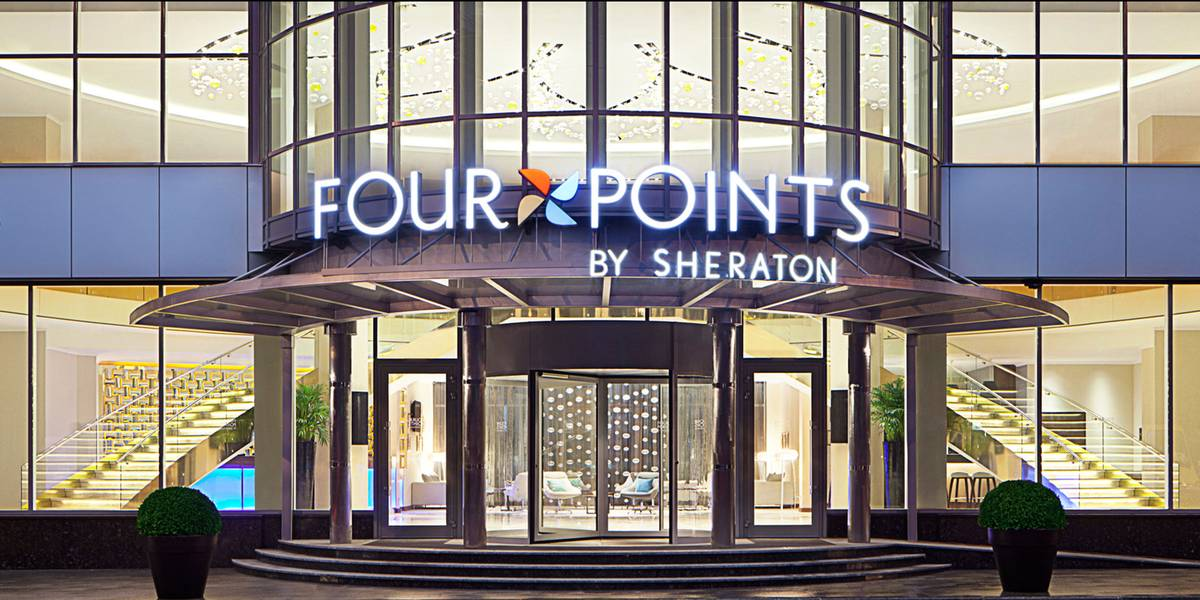 Notholt Lighting Design Hotel Four Points By Sheraton